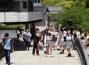 KG高等学院岩国駅前キャンパスは鹿島朝日高等学校の岩国駅前キャンパス。
