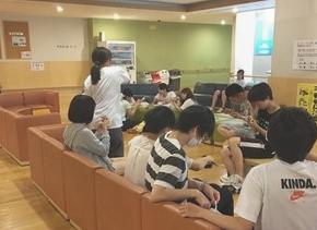 通信制高校サポート校KG高等学院田無キャンパスの学習の様子